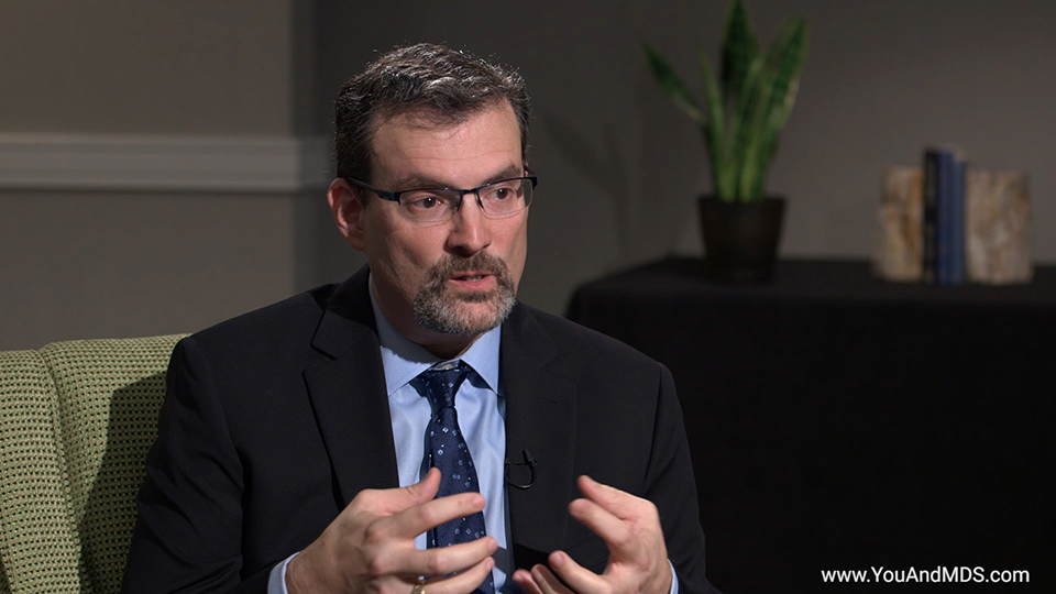 Expert Video - What's the prognosis for MDS-related anemia? How is prognosis determined?