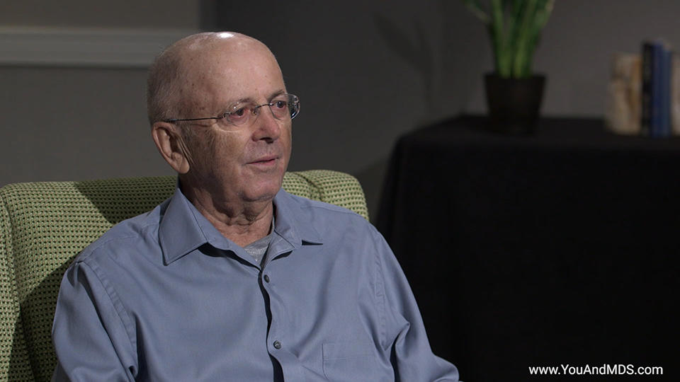 Bill's story: How did you find out you had MDS-related Anemia?