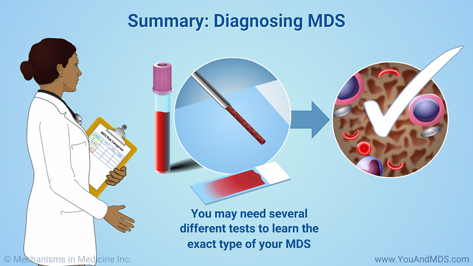 Summary: Diagnosing MDS