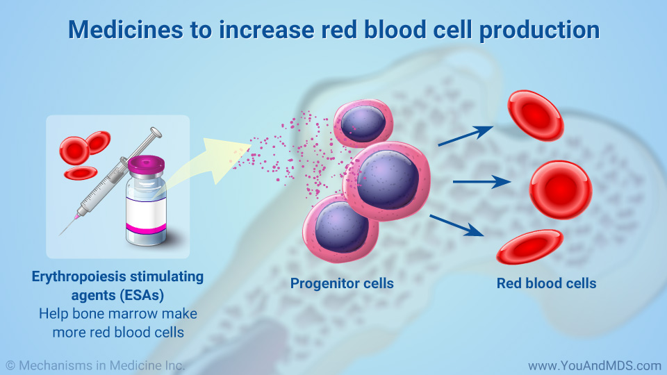 Medicines to increase red blood cell production