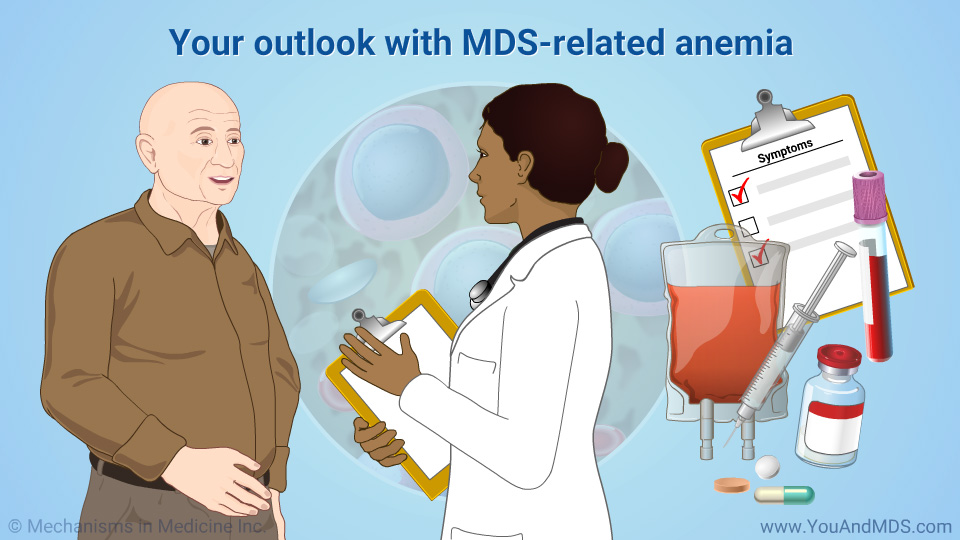 Your outlook with MDS-related anemia
