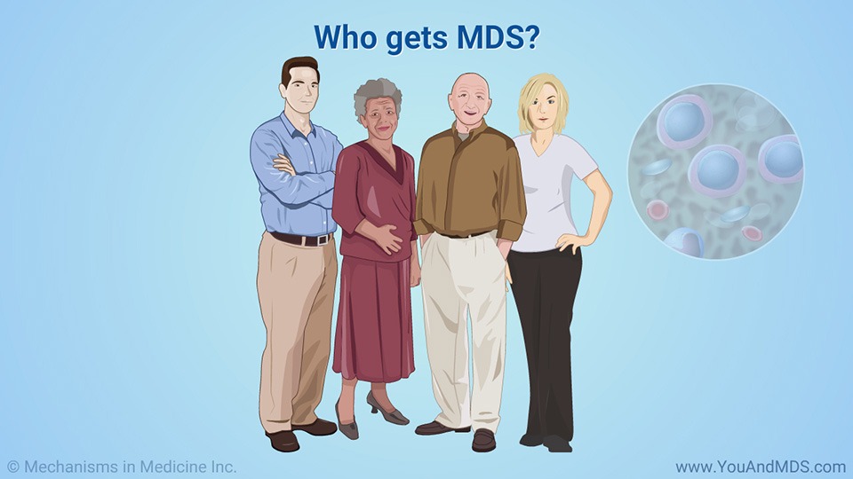 Who gets MDS?